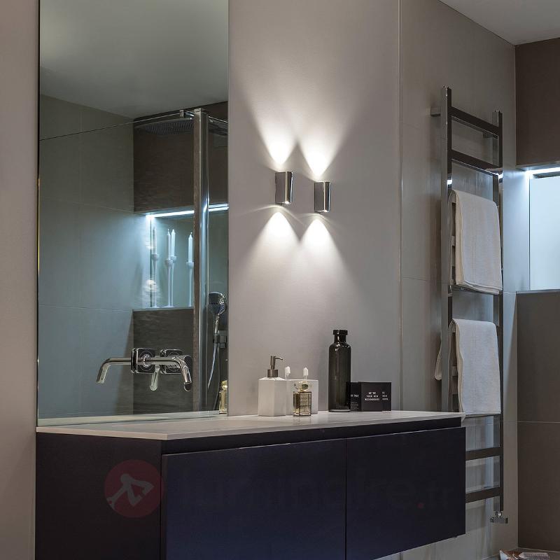 Applique LED moderne Alba - Appliques chromées/nickel/inox