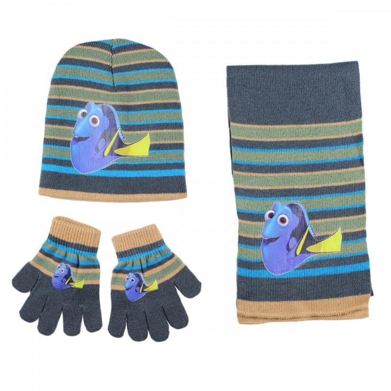 3x Echarpes et bonnets et gants Nemo - Bonnet Gant Echarpe