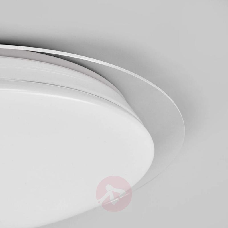 LED ceiling light Tille, dimmable with remote - design-hotel-lighting