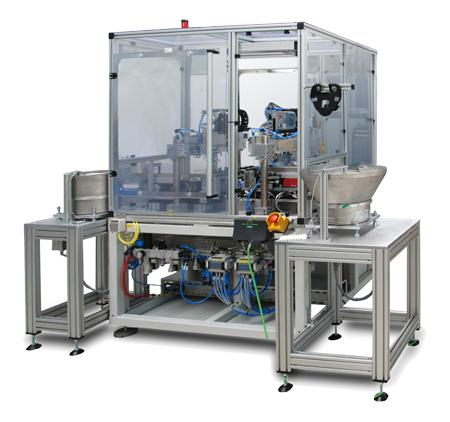Rotary Transfer Systems - Space-saving rotary transfer systems for high quantity demands.