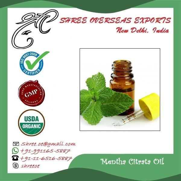 Organic Mentha Citrata Oil - USDA Organic