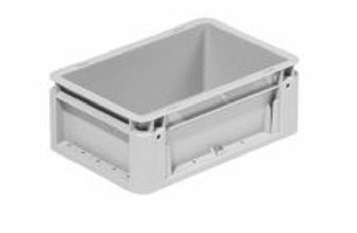 Industriebehälter klein geschlossen  - 300x200 mm silver