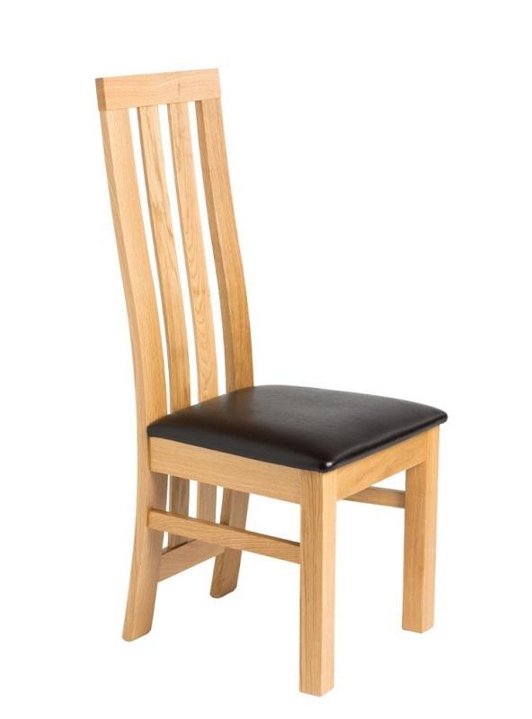 Oak chair Iva -