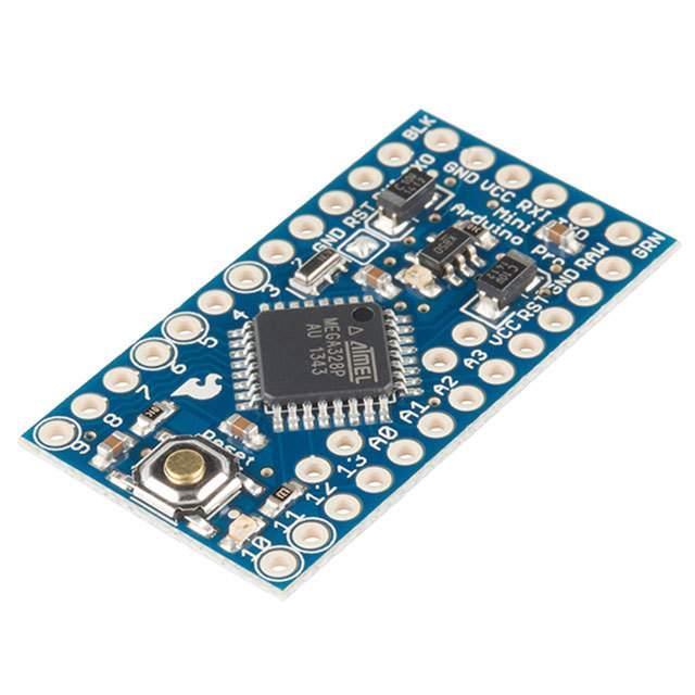 ATMEGA328 ARDUINO PRO MINI 5V - SparkFun Electronics DEV-11113