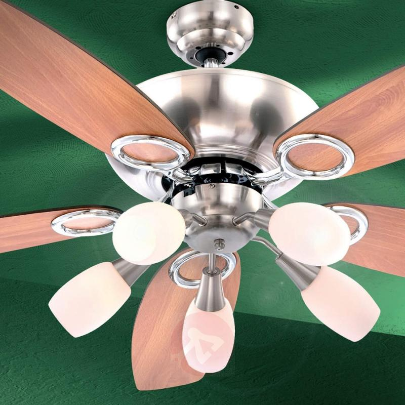 Ceiling fan Jerry, five-bulb - fans