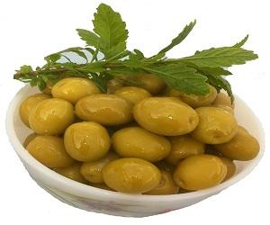 Manzanella Green olives