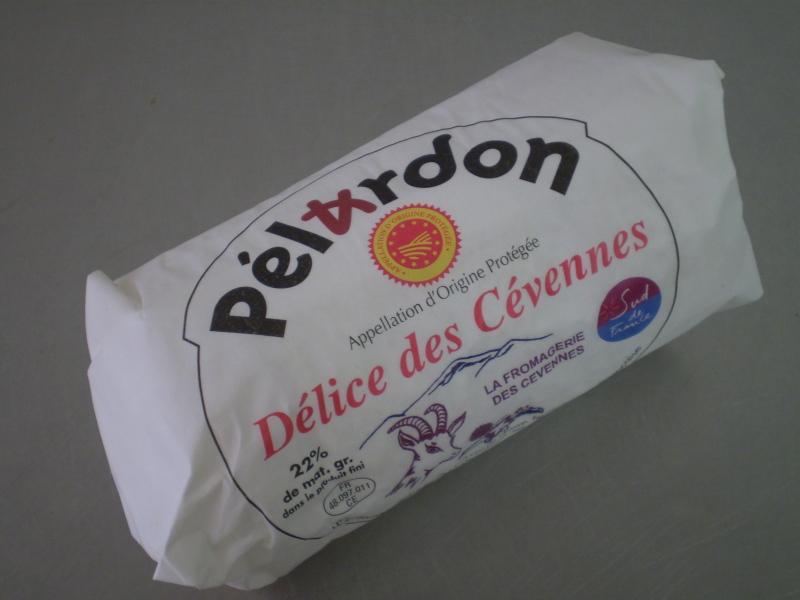 Pélardon AOP x 4 sous papier sulfurisé - Produits laitiers