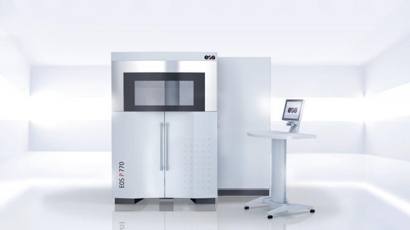 EOS P 770 - Hochproduktives Laser-Sinter-System für Bauteile von bis zu einem Meter