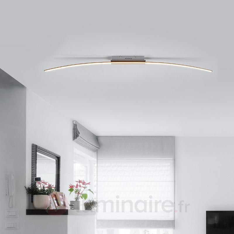 Plafonnier LED minimaliste Iven - Plafonniers LED