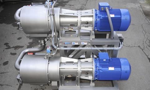 Estrazione a caldo - Macchine per Estrazione e disattivazione enzimatica
