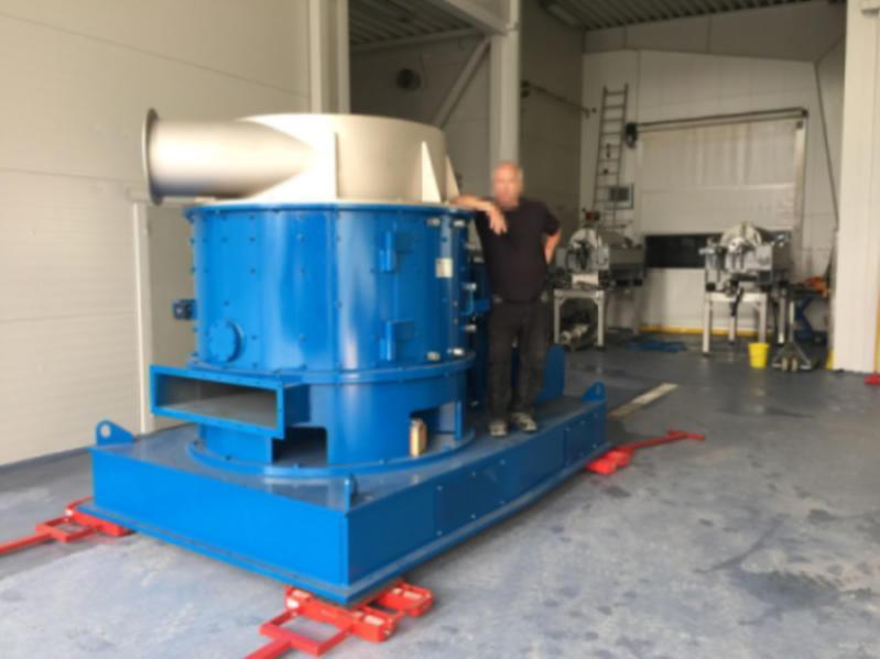 Mahltrocknungsanlage TurboRotor (G-150)