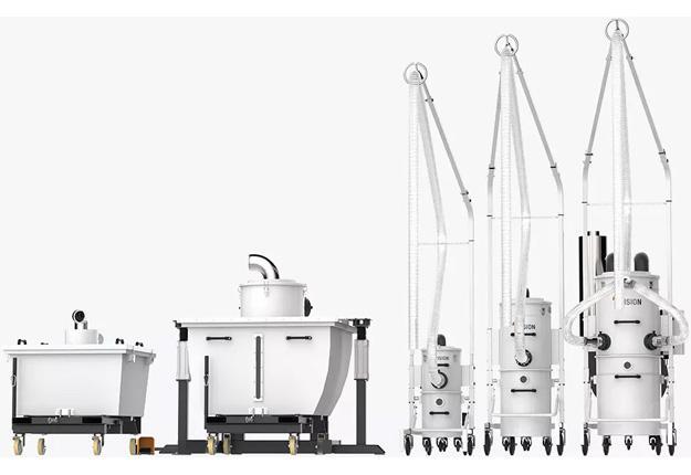 Aspirateurs industriels  - Gamme FLAT TABLE LINE