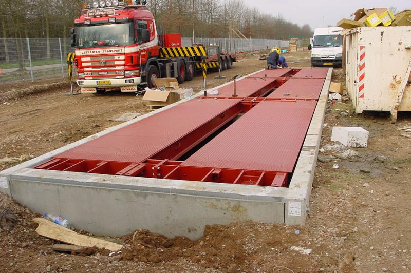 Weighing bridges - Trucks - Integrated into the ground