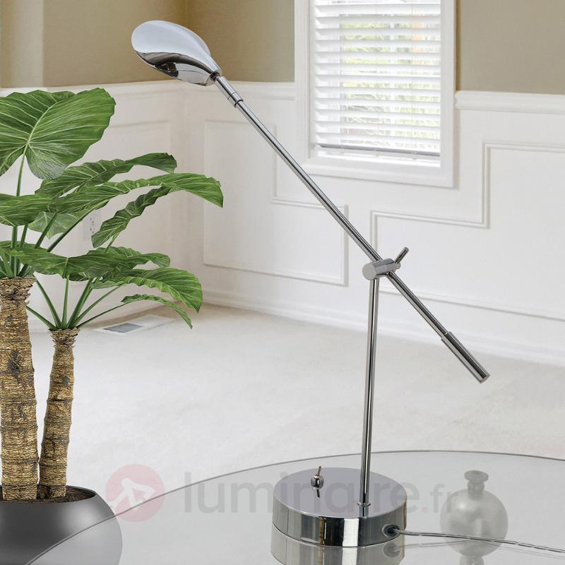 Lampe à poser LED Olesia, ajustable - Lampes de bureau LED