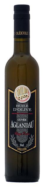 Huile cuvée Aglandau 50 CL - Produits oléicoles