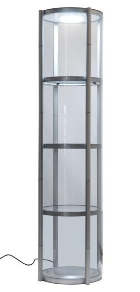 Booth Displays - Twist-Up Tower Display 200cm
