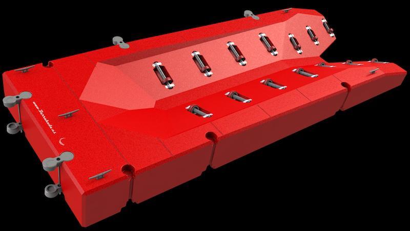 PLATAFORMAS PARA MOTOS DE AGUA - Plataforma para motos de agua hasta 1000kg.