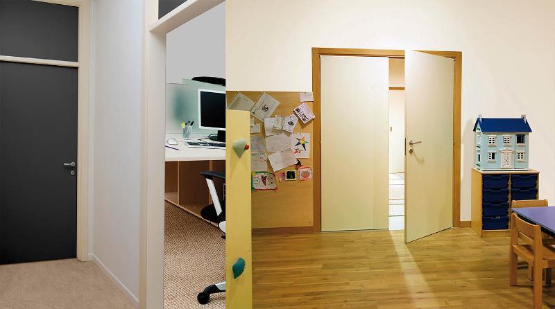 Laminio & Laminio Plus Porte con telaio in legno e anta in laminato - null