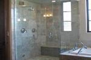 Vidrio de cuarto de baño -