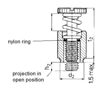 Self-clinching fasteners - PEM® - Self-clinching panel fasteners Type PFC2