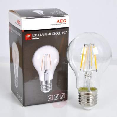E14 40 W half mirror bulb, gold, warm white - light-bulbs