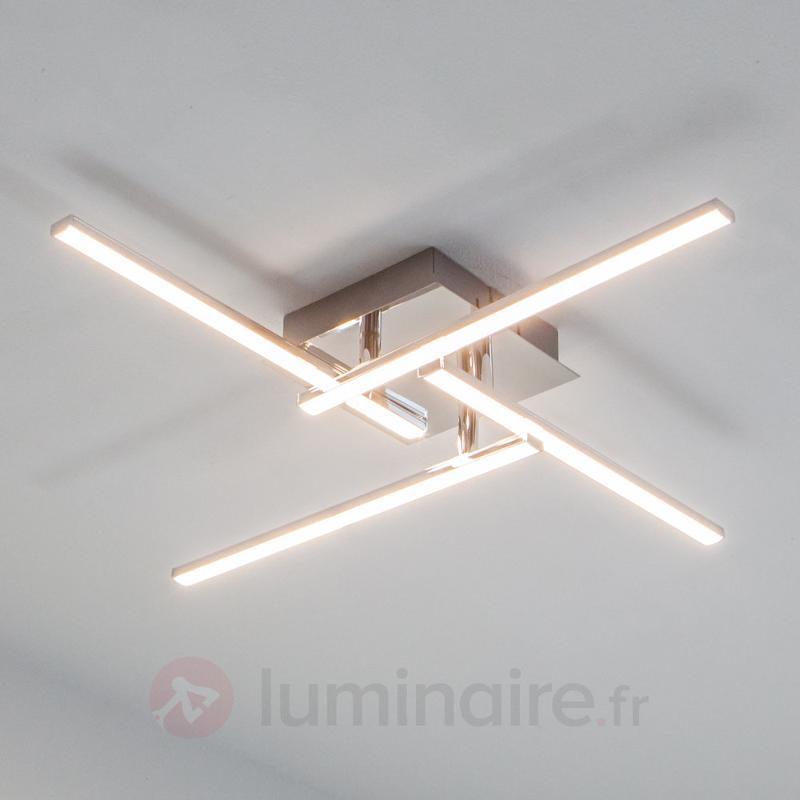 Plafonnier rectiligne LED Nikan - Plafonniers LED