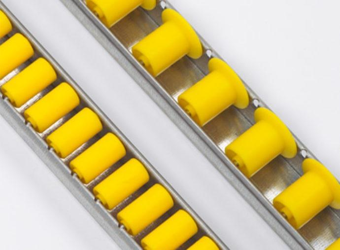 Roller rail - RL series - For the safe transfer of transport boxes and boxes to flow racks.