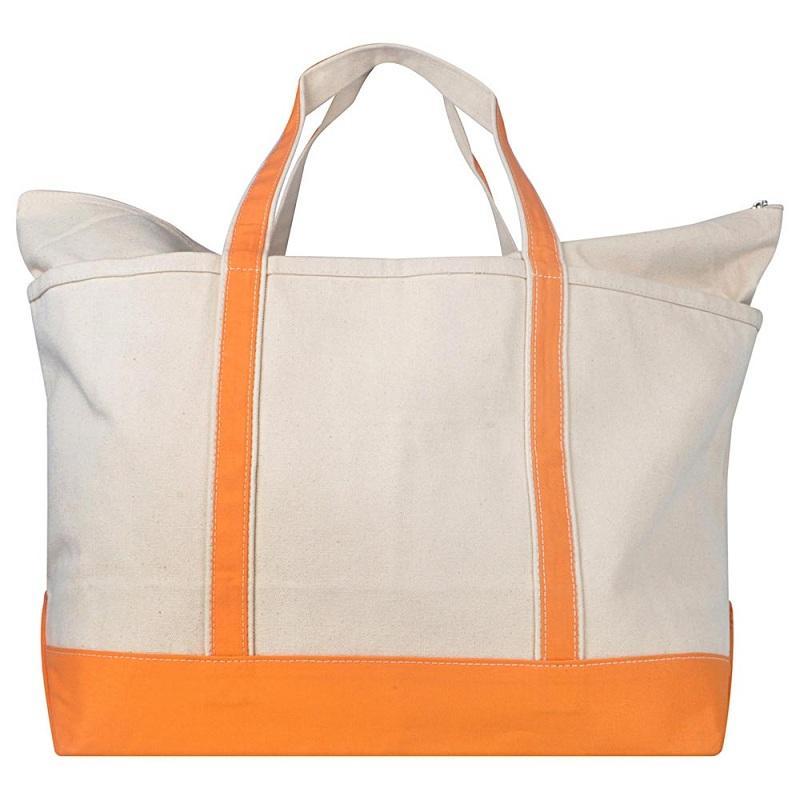 TOTE SHOPPING BAG  - 100% TOTE CANVAS SHOPPING BAG