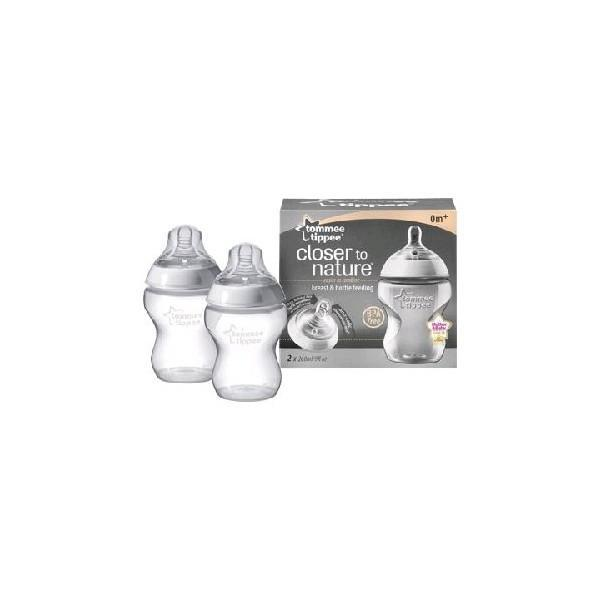 Biberons Twin Pack Tommee Tippee 260 ml