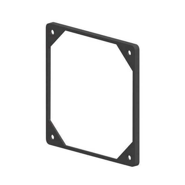 FAN GASKET BLACK 80MM - Essentra Components FGA-80