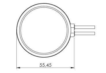 Magnetic Puck Antenna with 2 Cable - Cel: FME/F 600 (mm) RG174 cable GPS: SMA/M, 600(mm) RG174 cable WiFi/BT