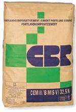 Ciment, mortier, ciment colle - Matériaux de construction