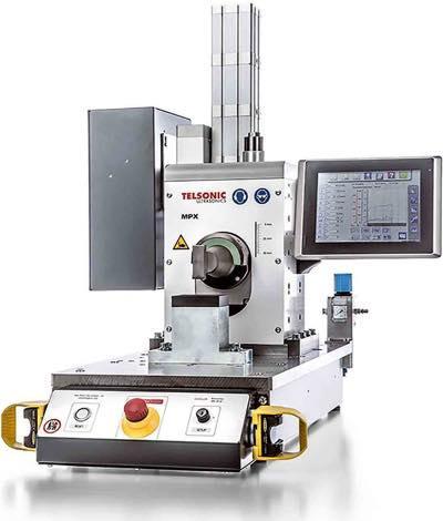 MPX Ultrasonics Linear Metal Welding Press