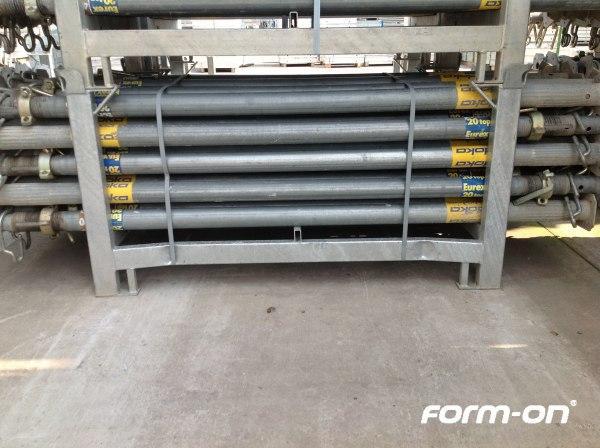 Floor props used - Doka floor prop Eurex 20 top 400