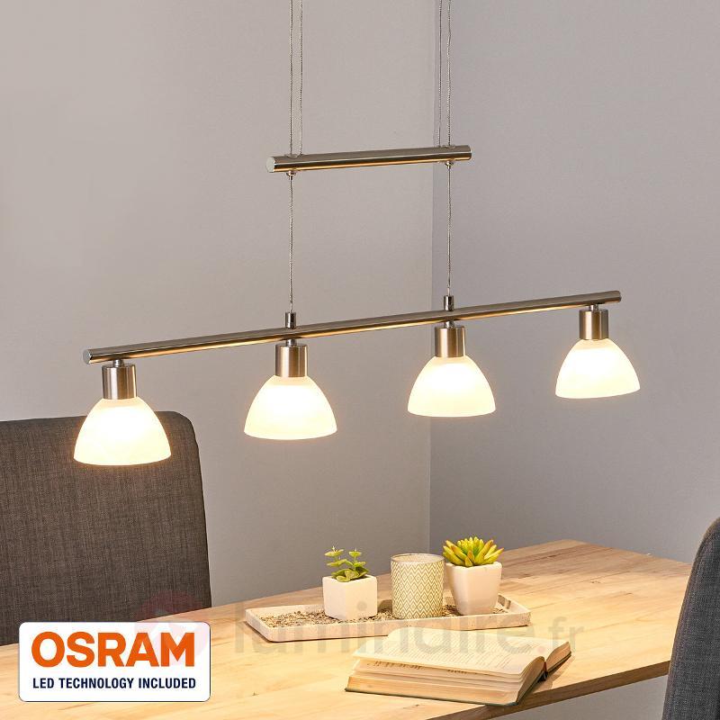 Suspension Laslo ajustable avec LED OSRAM - Suspensions LED