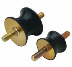 rubber buffer - rubber vibration threaded rubber mount base anti vibration rubber mount 4 pcs M6