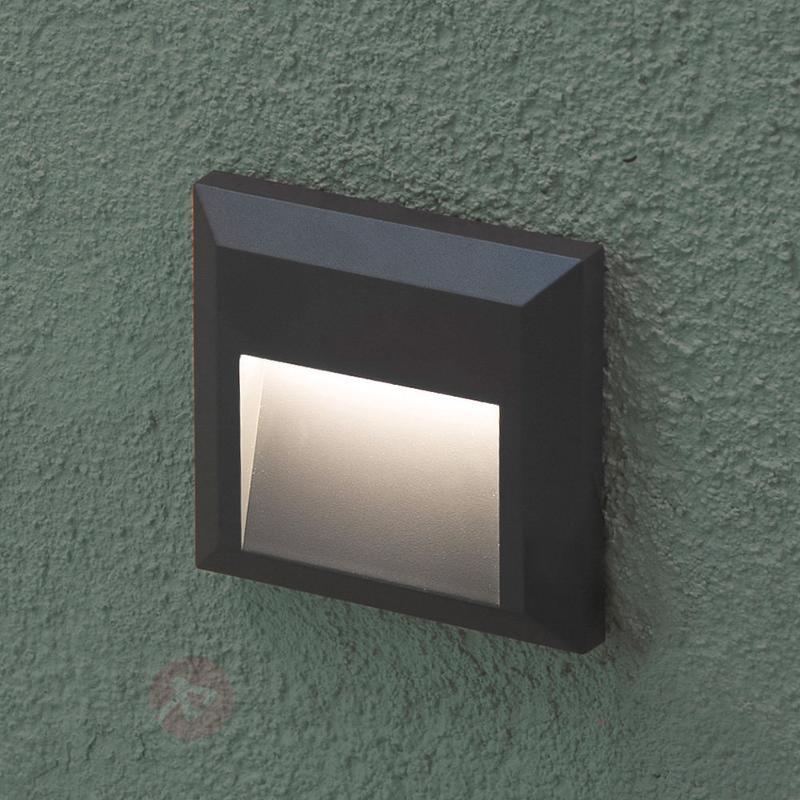Grant - Applique extérieure LED rectangulaire - Appliques d'extérieur LED
