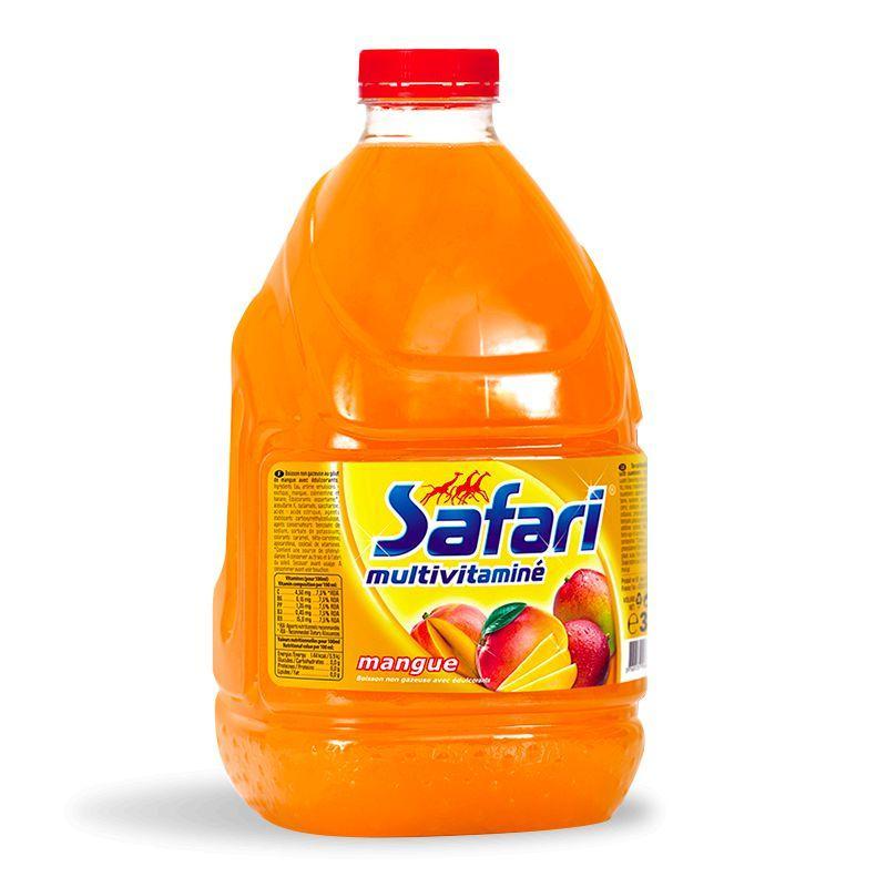 Multi-vitaminé mangue 3L - SAFARI - Multi-vitaminé mangue 3L - SAFARI