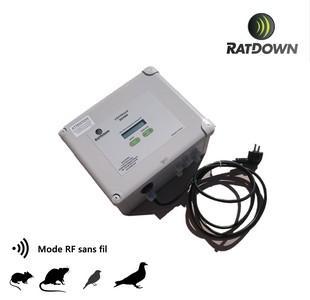 Centrale combinée RD5000RF - RATDOWN® RD5000RF