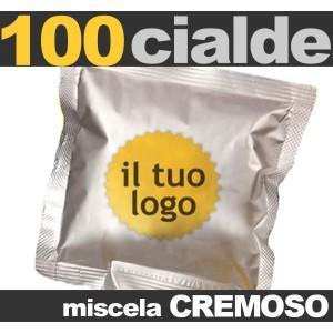 Cialde caffe personalizzate  - Cialde caffè personalizzate con logo proprio