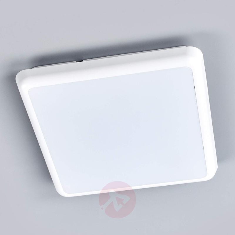 Square LED ceiling lamp Augustin, 25 cm - indoor-lighting