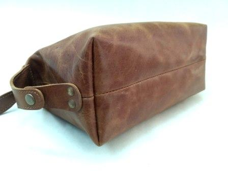 Leather Toiletry Bag  - Unique Leather Toiletry bag match with your all travel need.