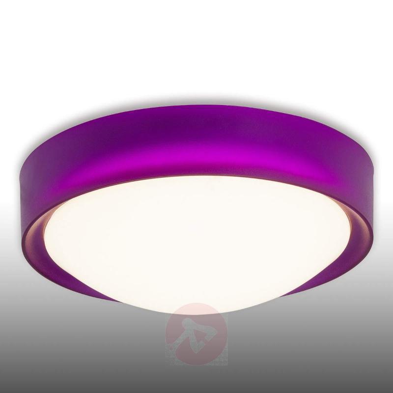 Violet LED ceiling light Tonia - Ceiling Lights