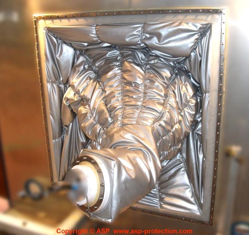 Roboterschutz Schmiede Gießerei