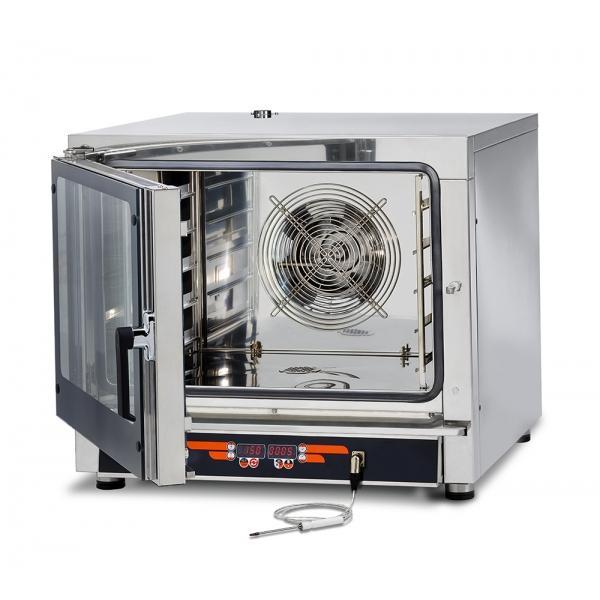 Four Mixte Electrique digital 5GN1/1 ou 5x400x600 - Référence FEDL05NEMIDVH2O