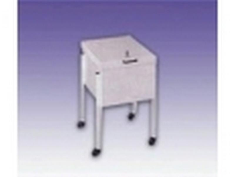 Metal office file trolley - null