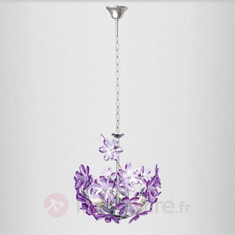 Suspension PURPLE 1 lampe style florentin - Toutes les suspensions