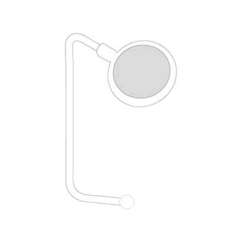 Accroche sac - Porte-clés métal