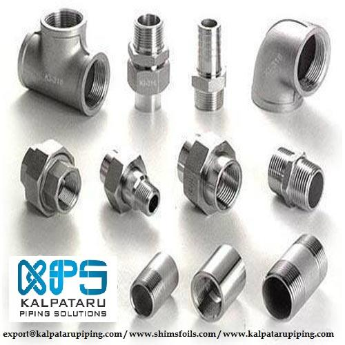 MONEL FORGED FITTINGS - MONEL SOCKETWELD FITTINGS - MONEL THREADED FITTINGS - ASTM B564 / ASTM SB 564