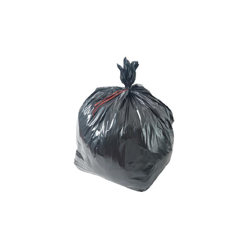 Sac Poubelle 130 litres noir ultra fort 70µ - COLLECTE DES DECHETS